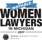 Notable | Women | Lawyers | In Michigan |2017