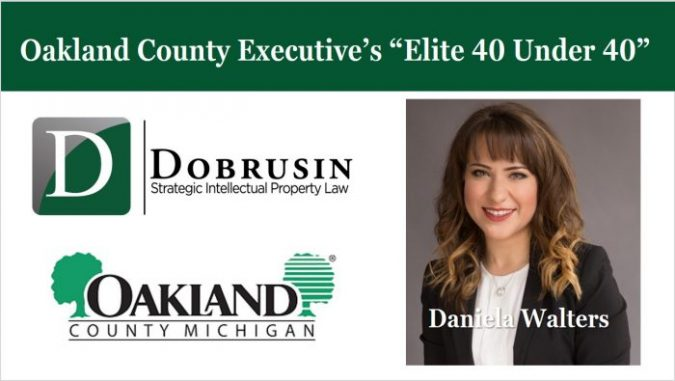 "Daniela Walters Named to Oakland County Executive's ""Elite 40 Under 40"""