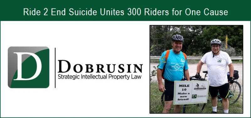 The Dobrusin Law Firm Sponsors and Participates in the 4th Annual Ride 2 End Suicide