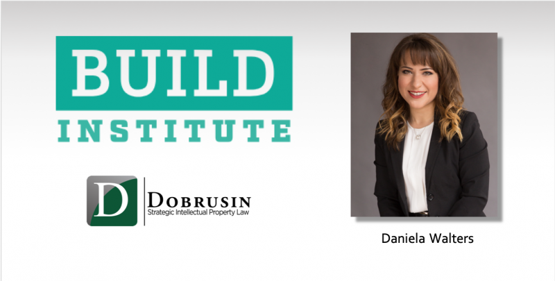 Daniela Walters Presents Seminar on IP for Small Businesses at the Build Institute