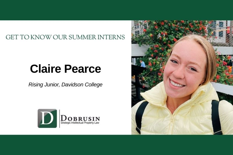 Q & A with Dobrusin's Summer Interns: Meet Claire Pearce